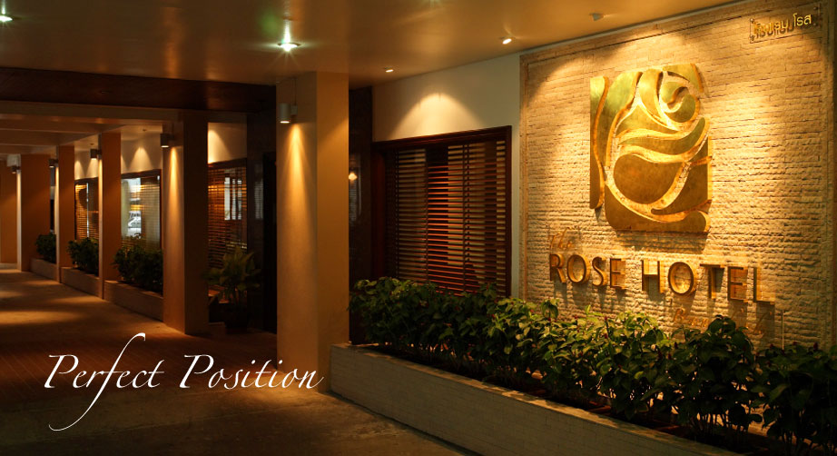 495fc3256da6c The Rose Hotel | Boutique Hotel in Silom Surawongse Road